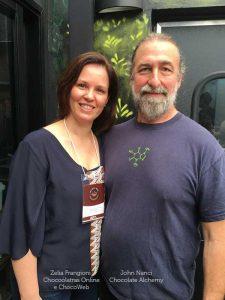 John Nanci & Zelia Frangioni